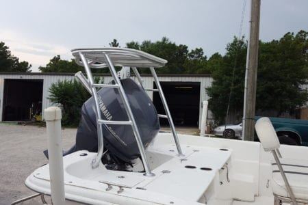 Poling Platform for Carolina Skiff Boat
