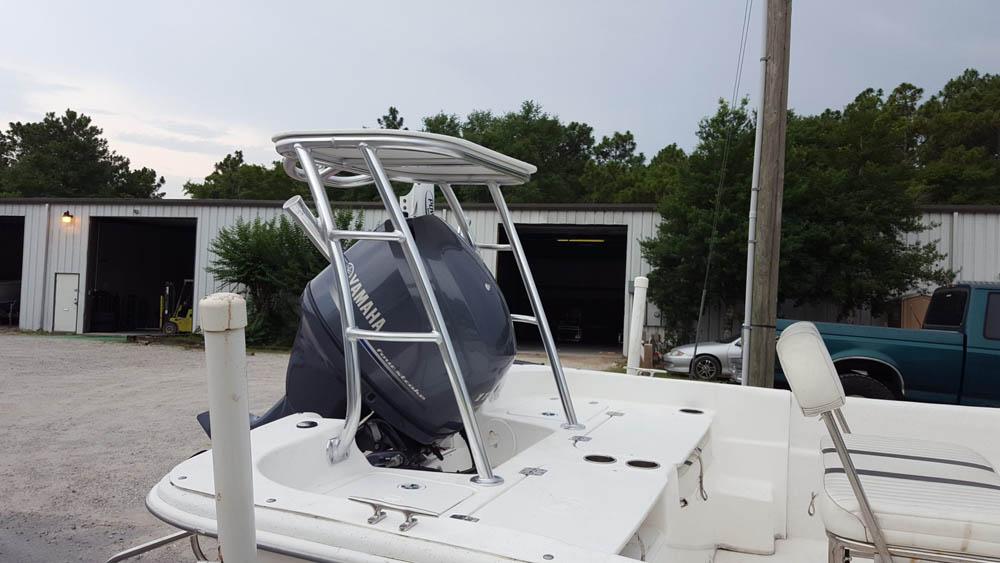 Poling Platform for Carolina Skiff Boat