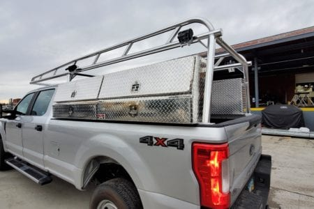 Heavy-Duty Ladder Rack