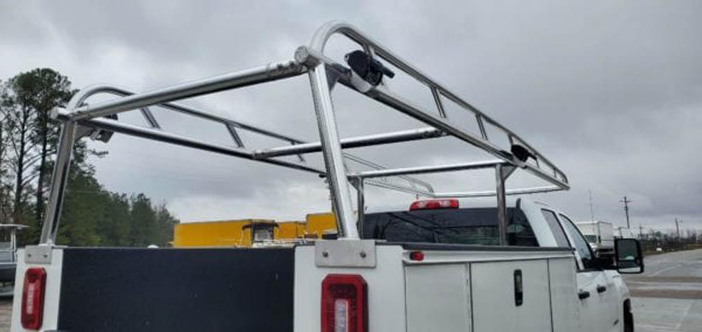 Custom Aluminum Truck Rack