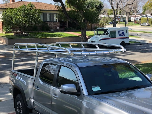 Ladder Rack for Tacoma