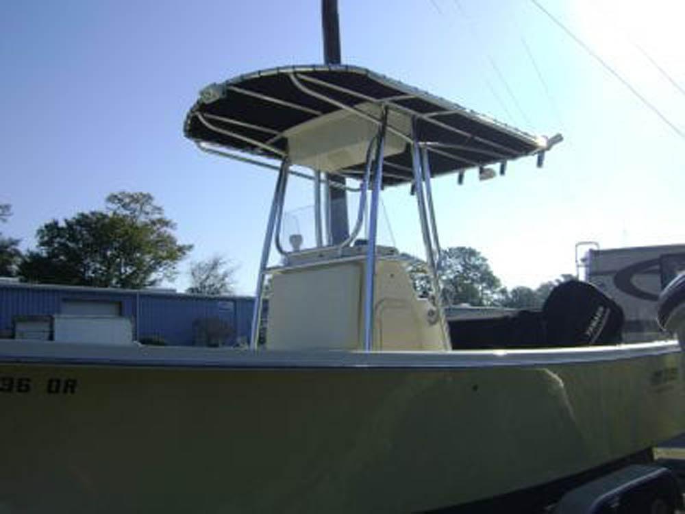 Custom T Top for Jones Brothers Boat