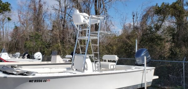 Cobia Tower with helm box