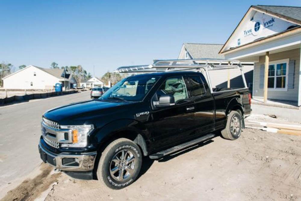 Lumber Rack for Ford Truck