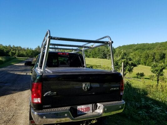 Aluminum Ladder Rack