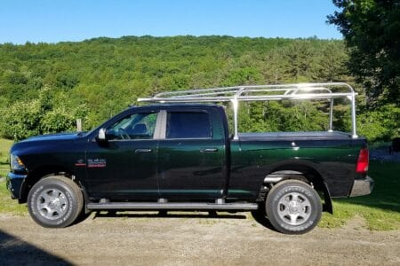 Rambox Truck Ladder Rack