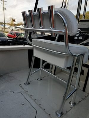 Aluminum Boat Seat with Cushions