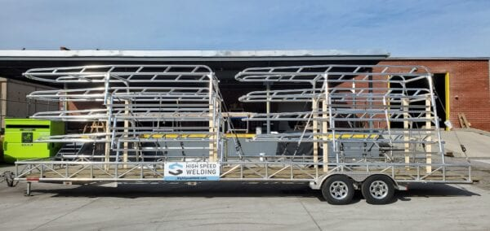 Truck Fleet Ladder Racks