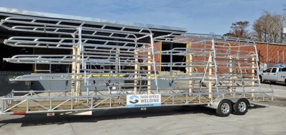 Ladder Racks for Truck Fleet