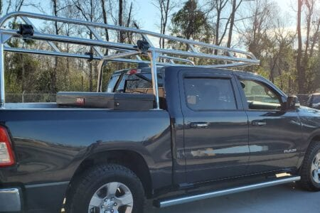 Custom Aluminum Ladder Rack