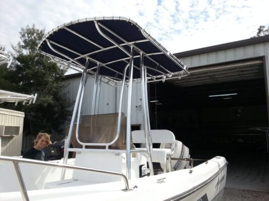 Soft Top For Boat