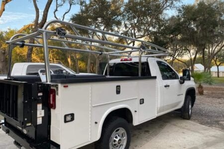 Aluminum Knapheide Ladder Rack
