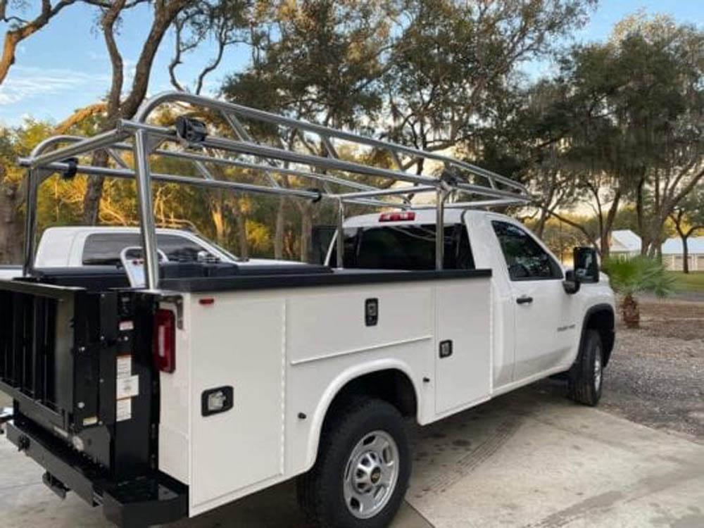 Aluminum Knapheide Ladder Rack