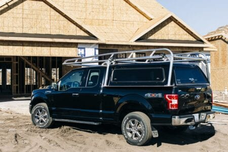 Camper Shell Ladder Rack