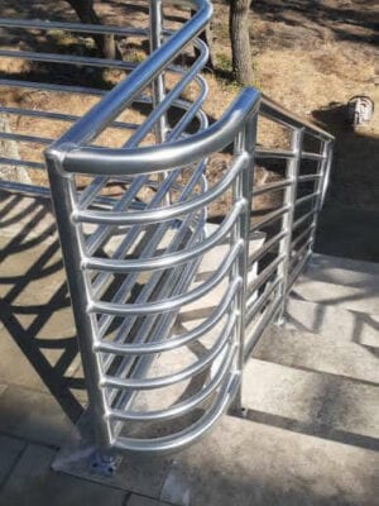 Aluminum Rails for a deck