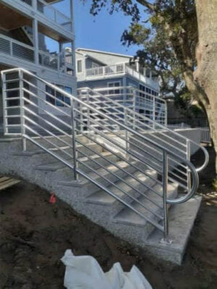 Custom Aluminum Handrail
