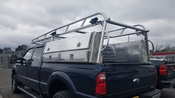 Custom Truck Rack with Topsider Toolboxes