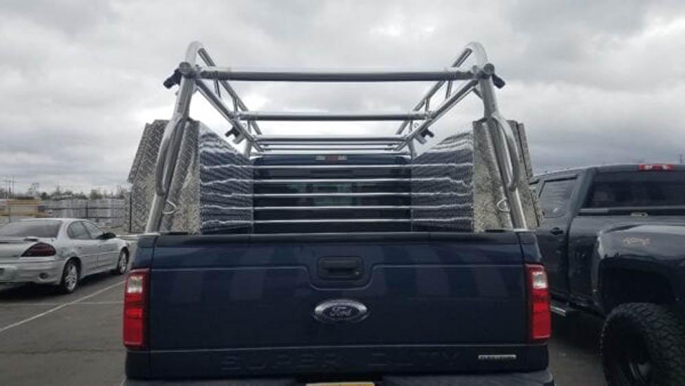 Aluminum Ladder Rack For Ford Pickup