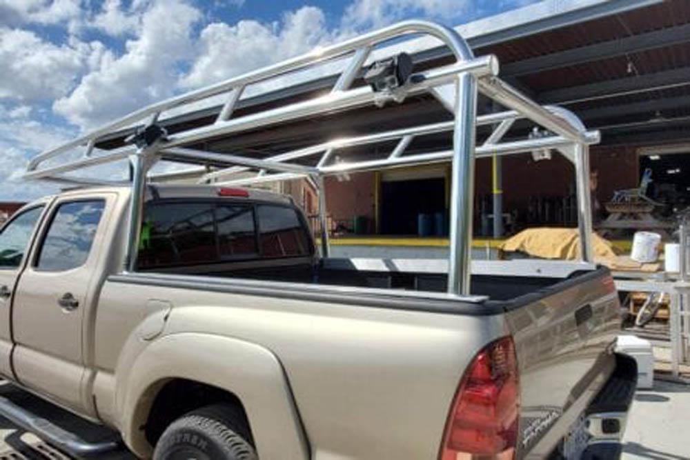 Custom Truck Ladder Rack