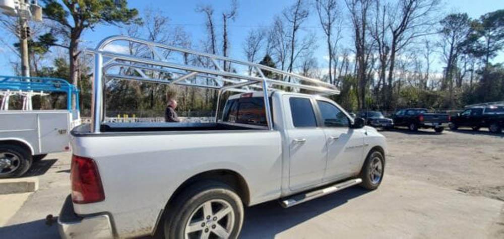 Ram Truck Rack Installation