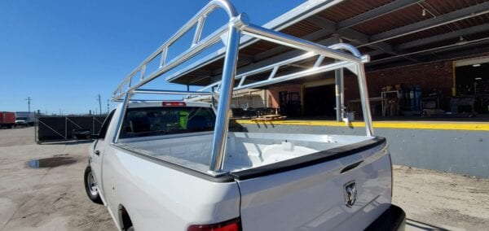 Custom Aluminum Ladder Rack