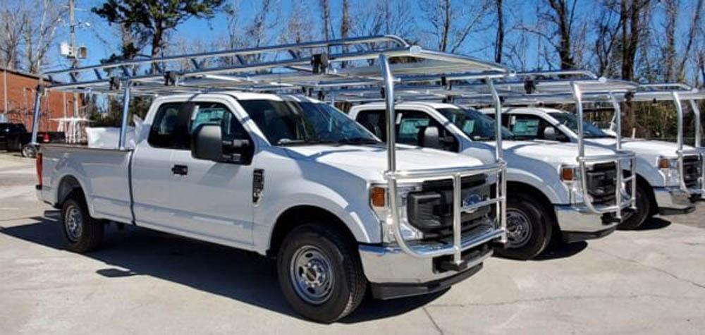 bumper to bumper truck racks