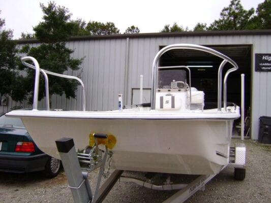 Custom Safety Rail For Boats