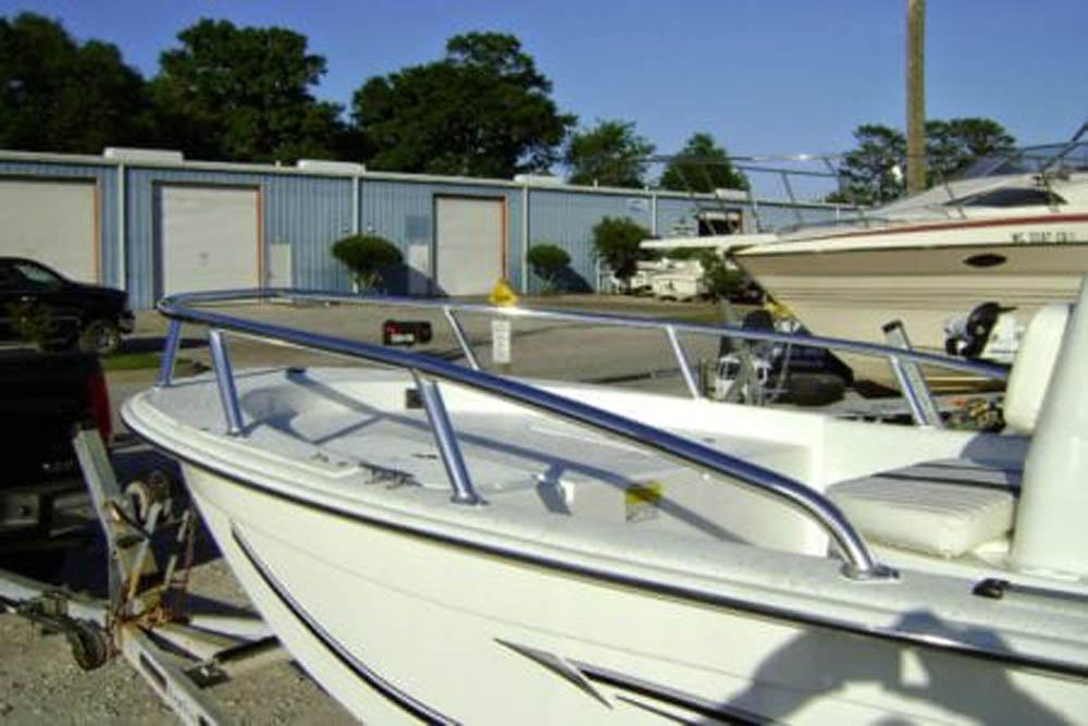 Bow Rail for skiff