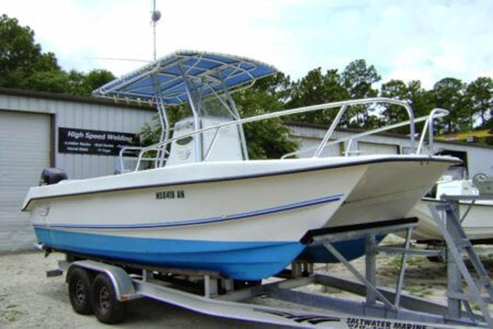 Catamaran Bow Rails