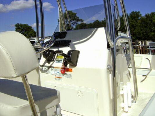 Center Console Boat Top