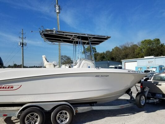 Boston Whaler T Top