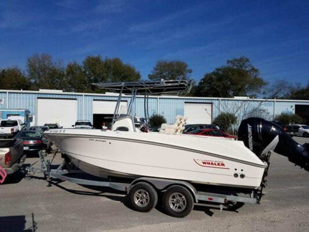 Custom boat T Top