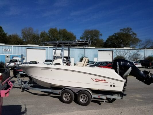 Canvas T Top For Boston Whaler Outrage 220