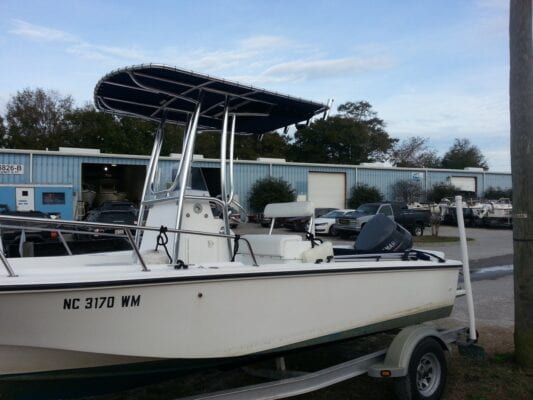 T Top for Edgewater Boat