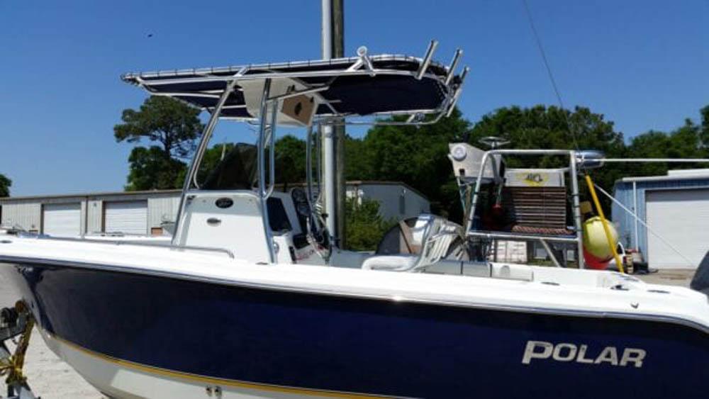 Custom Canvas Boat Top