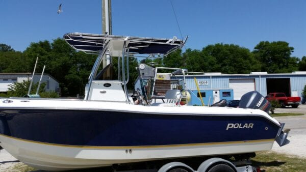 T Top For Polar Boat